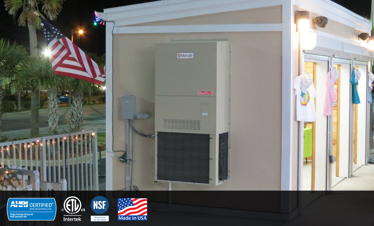 Modpac Exterior Wall Mount Air Conditioners