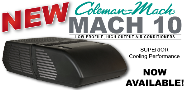 Coleman Mach Mach 10 Low Profile Rv Acs Airxcel
