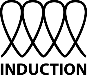 INDUCTION SYMBOL_Black