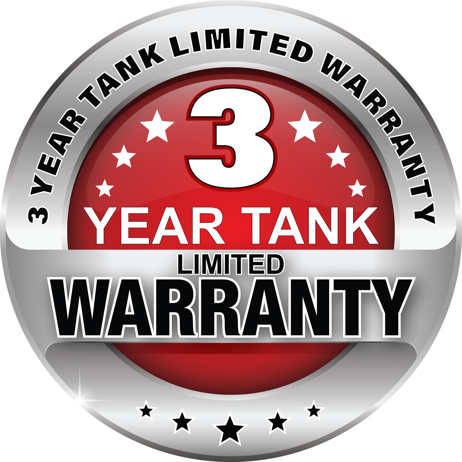 3 YEAR LIMITED WARRANTY BUG